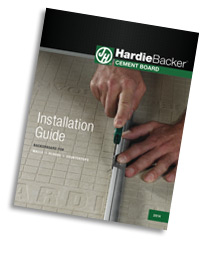 HardieBacker Installation Guide